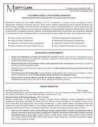 Sample Of Resume For Customer Service by Download Sample Resume For Food Service Manager