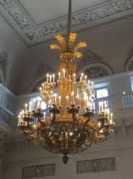 Giant Chandelier Goya At Hermitage Picture Of State Hermitage Museum And Winter