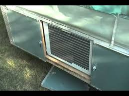 Hardtop Awnings For Trailers 1972 Tent Trailer With Air Conditioner Youtube