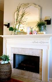 Fireplace Mantel Shelf Designs Ideas by 301 Best Fireplace Decor Ideas Images On Pinterest Fireplace