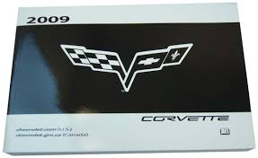 2009 corvette owners manual warranty books glove box pouch canada