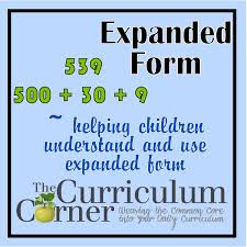 expanded form math place value elementary 2nd grade in spanish