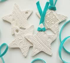 embossed clay star christmas decorations 3 steps with pictures
