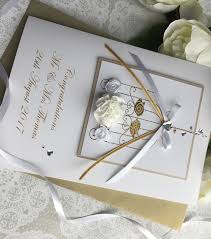 luxury wedding card handmade cardspink posh