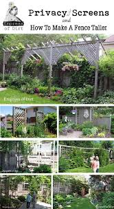 Privacy Screen Ideas For Backyard 45 Best Fences Images On Pinterest Backyard Backyard Ideas