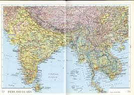India On World Map India And Se Asia Map Map Map China Map Shenzhen Map World Map Cap