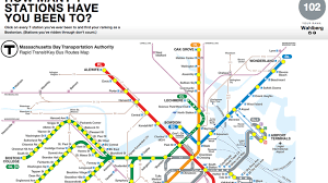 mbta boston map this mbta map will tell you how boston you really are