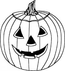 coloring pages pumpkin for kindergarten dltk sunday