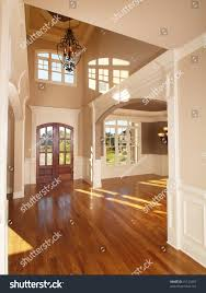 model luxury home interior front entrance stock photo 41129287