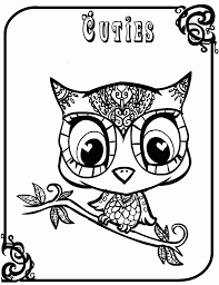 baby owl coloring pages fablesfromthefriends com