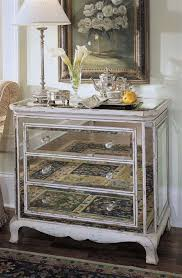 Hayworth Mirrored Bedroom Furniture Collection Mirrored And Wood Bedroom Furniture See Your Own Reflection With
