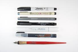 which pens to use on polymer clay a comparison the blue bottle
