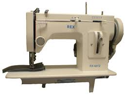 Used Upholstery Sewing Machines For Sale Review Of The Rex 607z Zigzag Walking Foot Industrial Sewing