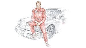 porsche cartoon drawing porsche supercup stars in cars