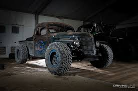 homemade 4x4 truck trophy rat a rod pickup with real off road chops drivingline