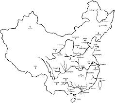 Map Of China Rivers by Appendix Figures