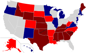 2016 Presidential Election Map Us Midterm Election Map 2016 Presidential Election Margin By