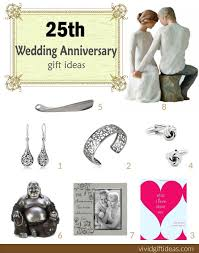 25 year anniversary gift ideas for best 25 25th anniversary gifts ideas on 25th