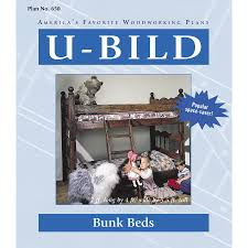 Wood Plans Bunk Bed by Shop U Bild Bunk Beds Woodworking Plan At Lowes Com