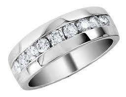 a few men wedding band cut diamond men wedding rings the wedding specialiststhe