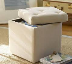 beautiful file storage ottoman with upholstered file cube pottery