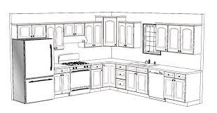 kitchen floor plans 10x12 part 16 small u shaped kitchen floor