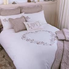 parisian cream bed linen collection dunelm
