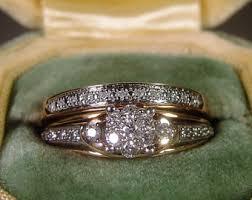 Wedding Rings Sets by Bridal Ring Set Etsy