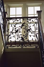 ranch exterior stair railings built steel railings stairs design