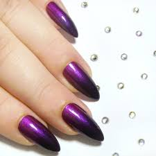 nail designs dark purple beautify themselves with sweet nails
