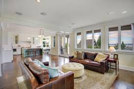 Federal Style Interior Decorating How To Clean Leather Sofa Family Room Traditional With Cornice