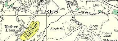 map of oldham lancs oldham mossley roxbury lees leesbrook glodwick alt