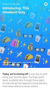 apple u0027s ios app store adds weekend deals to boost app downloads