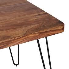 esszimmer tisch finebuy esstisch massivholz sheesham 120 cm esszimmer tisch
