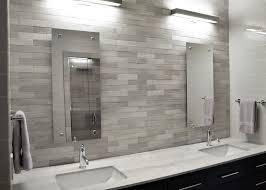Light Gray Tile Backsplash Home Design Ideas Kitchen Light Gray - Gray backsplash