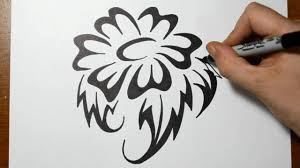 how to draw a tribal tattoo design hd images and wallpaper