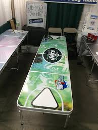Custom Beer Pong Tables by Refrigerated Beer Pong Table