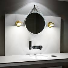 bathroom monocle wall sconce from rich brilliant