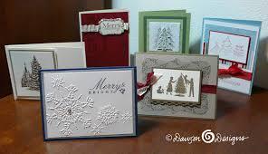 stampin u0027 up christmas cards u2013 cards by stephanie
