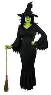 Halloween Witch Costumes Ladies Witch Dress Halloween Fancy Dress Costume Wicked Evil Hag