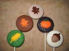 1 chocolate thanksgiving shimmer cupcake topper lollipops lollipop