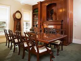 antique furniture for victorian dining room design with carving antique furniture for victorian dining room design with carving dining chairs plus white padded also glass top dining table complete classic standing clock