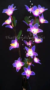 twig tree with lights orchid flower branch lights led flower lights wholesale