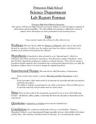 formal lab report template lab report template template business
