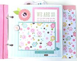 baby girl scrapbook album 12 12 baby scrapbook albums custom baby girl scrapbook album baby