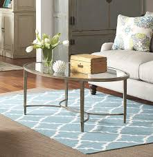Metal And Glass Coffee Table Belfort Select Copia Metal And Glass Oval Cocktail Table Belfort