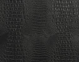 Alligator Upholstery Black Allie Embossed Alligator Upholstery Faux Vinyl Fabric Per