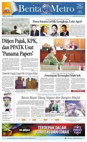 berita metro 8 april 2016 by harian berita metro issuu