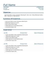 cv tips resume format template
