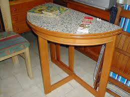 half moon dining table half moon kitchen table opens out nerja household centre second